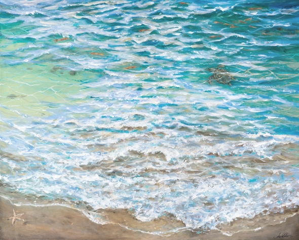 Shallow Water  60x48 x