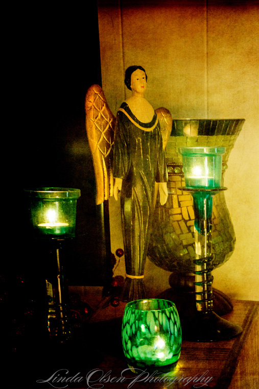 angel-and-candles