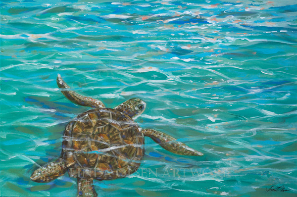 sea-turtle-dream-36x24