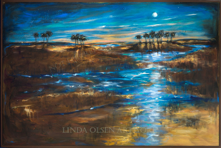 waterway-in-the-moonlight-61x41