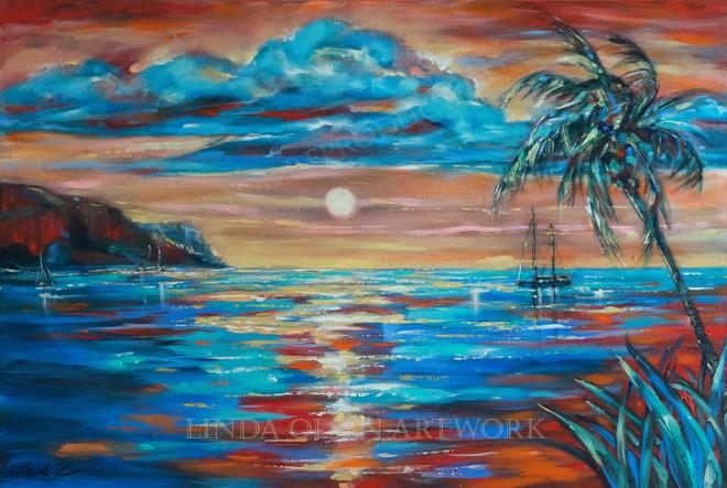 sunset-repose-st-kitts-36x24